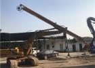 加藤820挖掘机14米伸缩臂-挖掘机伸缩臂