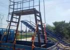 太仓不锈钢登高梯铝合金爬梯定制金属脚手架设备护栏网架