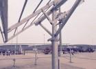 科森传动应用于太阳能光伏光热发电系统跟踪减速器减速机