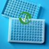 上海晶安紫外光学检测石英玻璃96孔酶标板 透光耐酸碱96孔板