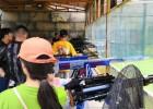 小型网红创业项目庙会射击打靶游乐项目枪林弹雨气炮射击场厂家