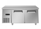 海尔(Haier)不锈钢商用厨房冰箱1.8米操作台冷藏柜饭店