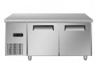 海尔(Haier)不锈钢商用厨房冰箱1.5米操作台冷藏柜饭店
