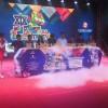 舞台活动启动画轴庆典干冰升降台春季运动会推杆台