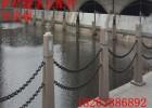鲁兴石柱杆铁栏杆用铁链 做防护栏杆的铁链规格及参数