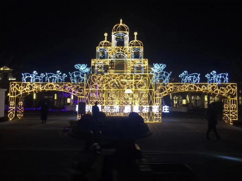 白山市灯光节活动制作生产厂家