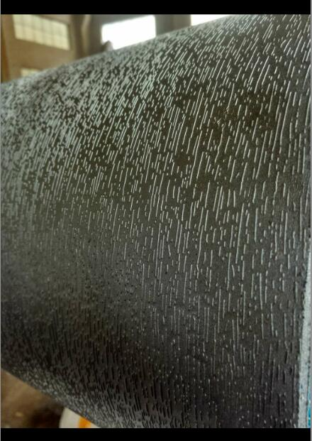PVC地板纸压花辊 压纹辊 无锡海知机械
