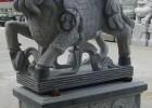 衡陽芝麻灰石雕 各種動物雕塑-大象招財進寶雕刻