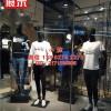 雅戈尔传统服装品牌越来越年轻化时尚展示架潮流男装货架