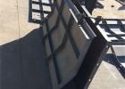混凝土防撞墙模板-高速桥梁建设-大进模具