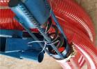 自贡玉米上料机折叠输送机载输送机