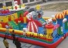 辽宁营口室外广场儿童 充气城堡大概多少钱一平方