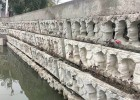 阶梯护坡挡墙砌块,河道生态护坡,生态框