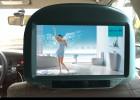 pTaxi009-9寸头枕安卓广告机4G广告机