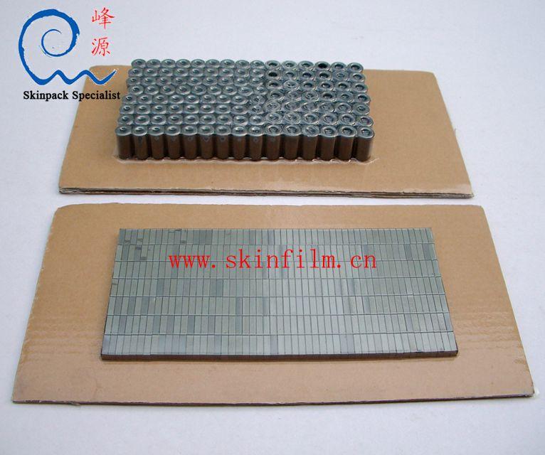 贴体面铁氧体磁芯贴体包贴体包装实例: