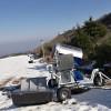 射程范围达到20-70m的全电脑控制造雪机设备