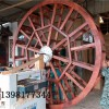 成都景观水车,木制水车生产厂家