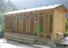 毕棚沟木质移动厕所 移动厕所厂家