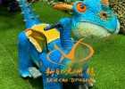 新款仿真恐龙电瓶车公园游乐场儿童人气游乐设施定制厂家直销
