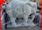动物石雕大象 石雕象厂家