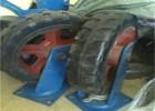 重型橡胶充气万向轮