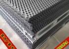 出口菱形轧平钢板网 踏步承重拉伸铁板网 安全防护金属扩张网