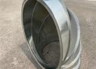 东莞白铁螺旋风管生产厂家专业风管90度弯头