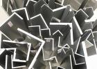 6063铝合金角铝 等边角铝 L型不等边角铝打孔加工