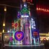 国内发光圣诞树生产圣诞树出租出售工厂圣诞树实际布景