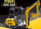 2吨挖掘机小型挖土机开沟挖土破碎抓木器园林工程施工小钩机