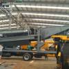 陆上沙金生产线  适合国外大型淘金机械