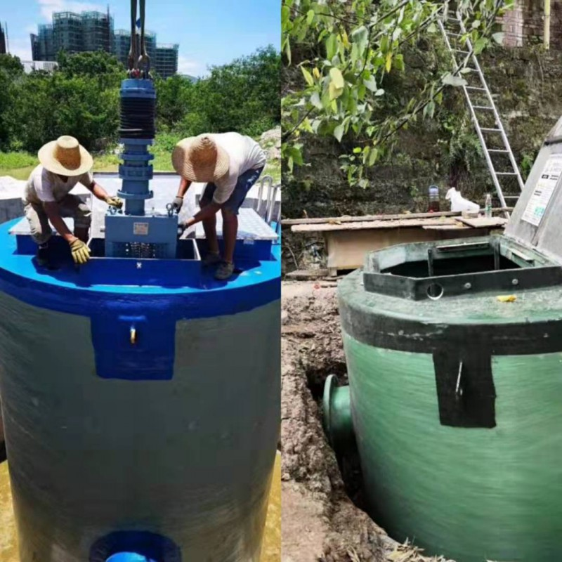 宜昌一体化排涝泵站质量有保障