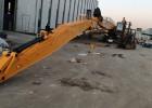 海口现代375挖掘机拆楼臂-原厂拆楼臂-原装拆楼臂