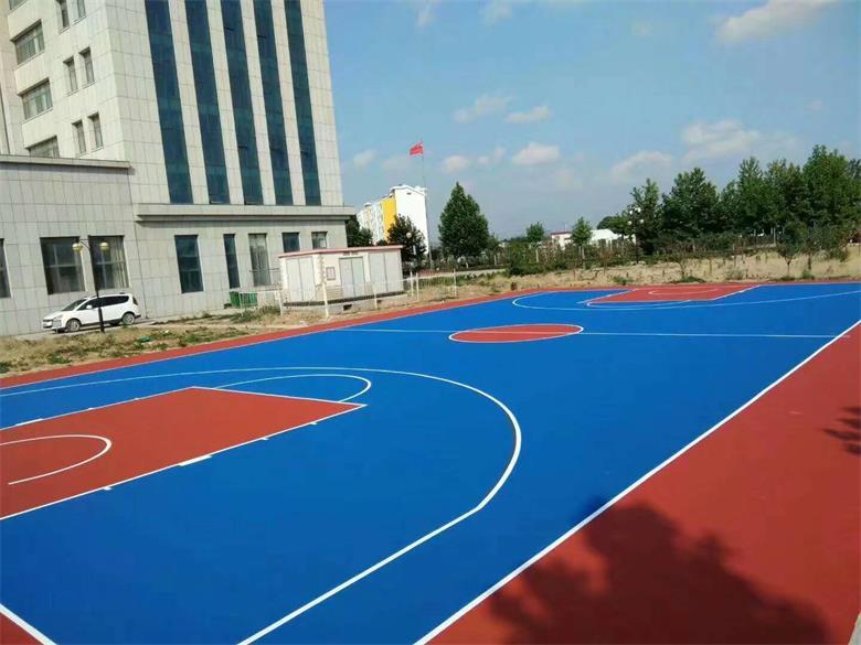 篮球场塑胶地坪施工价格