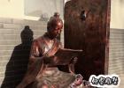 铜雕成语典故人物凿壁借光 铸铜凿壁借光雕塑