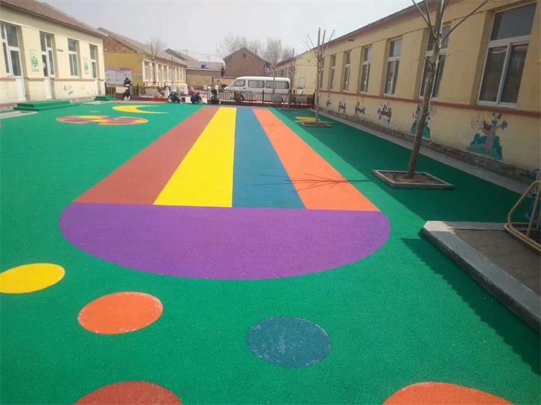 幼儿园塑胶地坪915