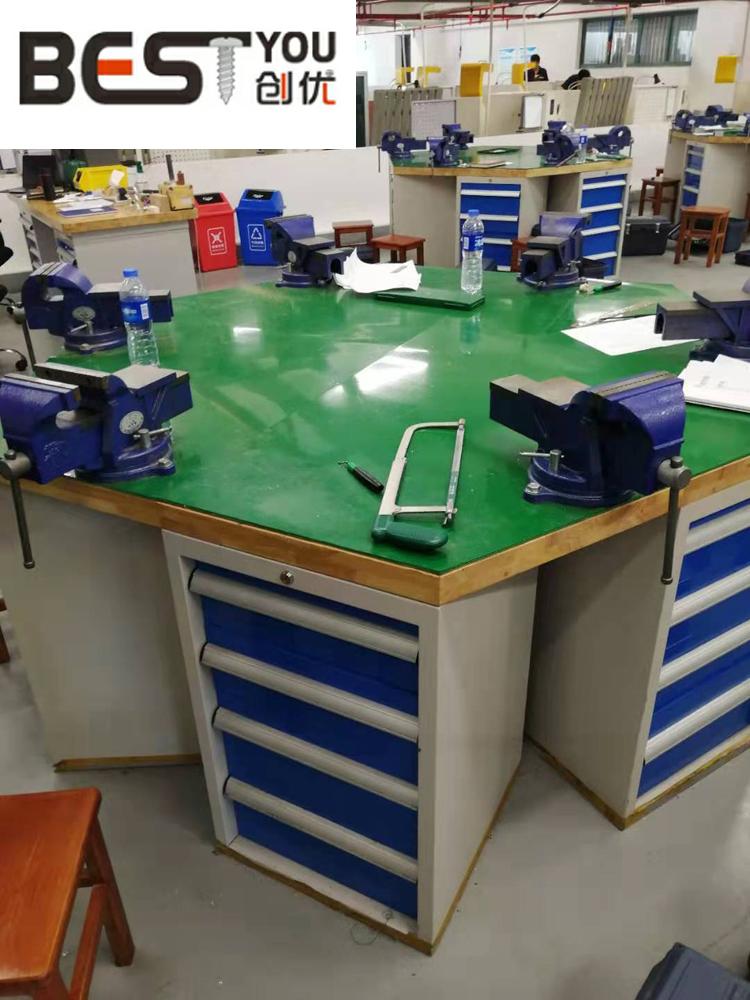 六角工作台,六角钳工台,六角钳工工作台生产厂家
