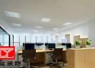 闵行办公室矿棉板吊顶 上海办公楼隔断 上海办公室装修