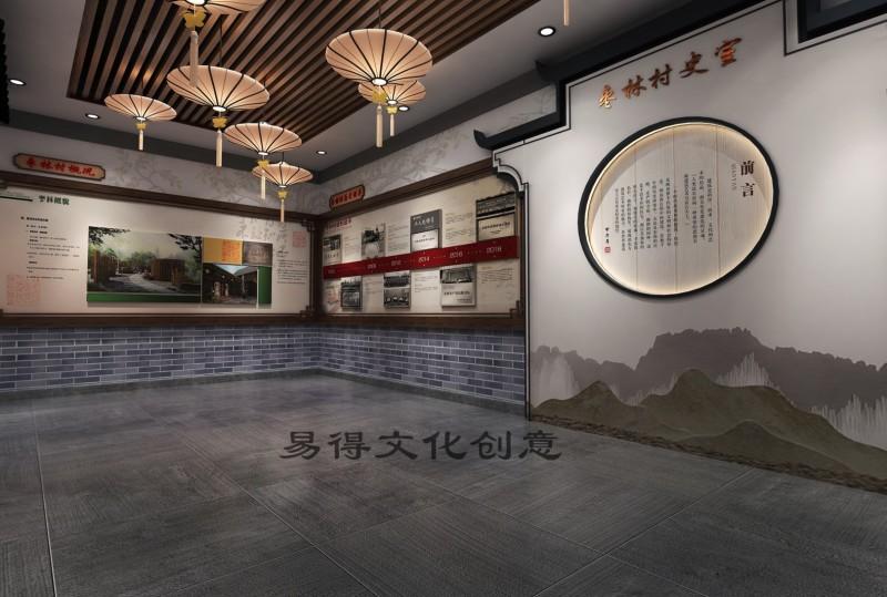 明光乡村文化礼堂设计公司乡村文化展厅设计施工