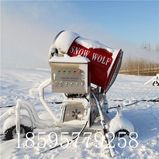 人工造雪机出雪量大 雪质好选诺泰克厂家造雪机
