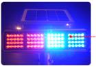 道路LED施工灯 双面警示灯太阳能信号频闪灯太阳能交通爆闪灯