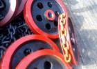 鲁兴TH400提升机链条跟料斗的连接件-链钩 链轮