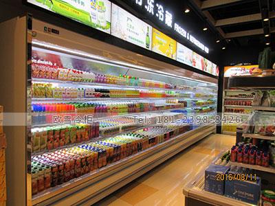 上海水果风幕柜多少钱一米