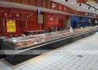 深圳超市鲜肉冷柜定制多少钱一米
