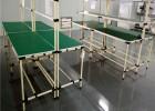 厂家生产东莞精益管工作台 车间线棒式防静电工作台