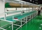 定制精益管工作台 铝型材工作台 电子厂生产线操作台