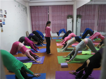 冬季养生—青州金水合瑜伽