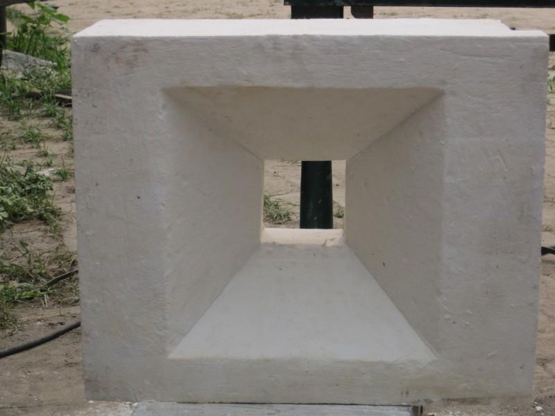 陶瓷纤维看火孔砖 真空成型陶纤预制块 锆铝防爆门1400℃