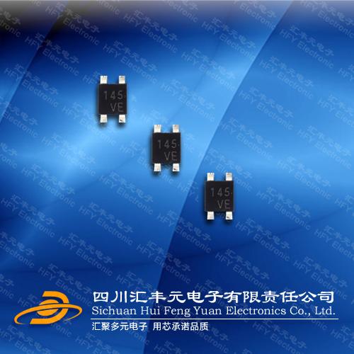 旭化成线性四脚贴片霍尔元件HG106C