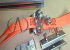 天车行车滑轮,扁线滑轮电缆滑槽,滑槽导轨不锈钢